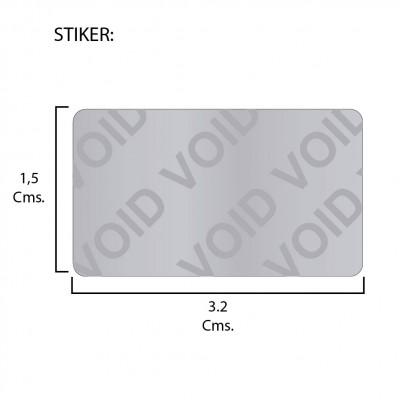 Etiqueta  VOID 32X15