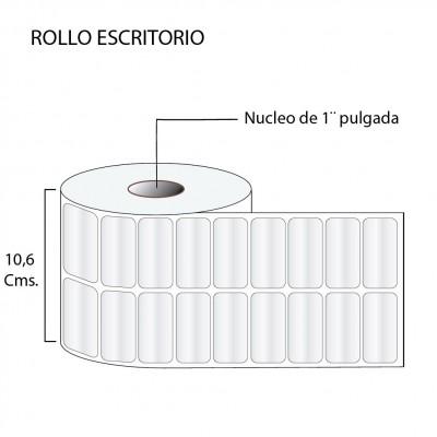 Etiqueta con película de polipropileno 51X25