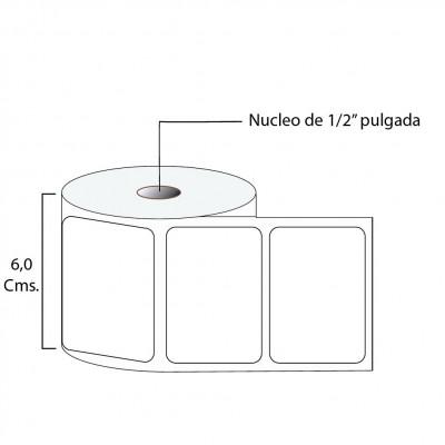 Etiqueta térmica premium 57X40