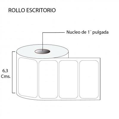 Etiqueta térmica premium 60X30
