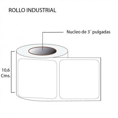 Etiqueta térmico premium 100X100